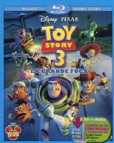 Toy story 3 - La grande fuga (2 Blu-Ray)(+e-copy)