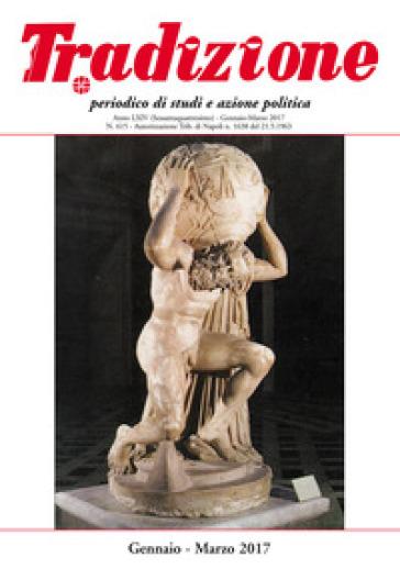 Tradizione (2017). 615: Gennaio-marzo - A. Ruggiero   Kritjur.org