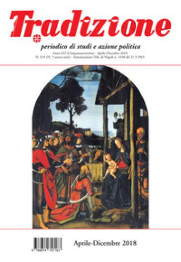 Tradizione (2018). 619: Aprile-dicembre - A. Ruggiero   Kritjur.org