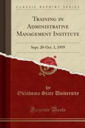 Training in Administrative Management Institute