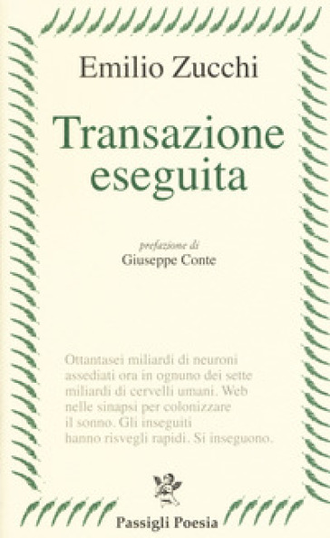 Transazione eseguita - Emilio Zucchi pdf epub
