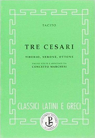 Tre Cesari - Publio Cornelio Tacito | Kritjur.org