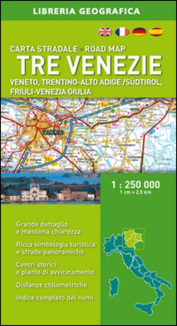 Tre Venezie 1:250.000