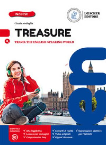 Treasure. Per la Scuola media. Con CD Audio formato MP3. Con e-book. Con espansione online - Cinzia Medaglia  
