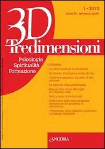 Tredimensioni. Psicologia, spiritualità, formazione (2012). 1.