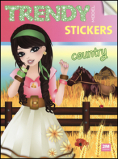 Trendy model stickers. Country. Con adesivi