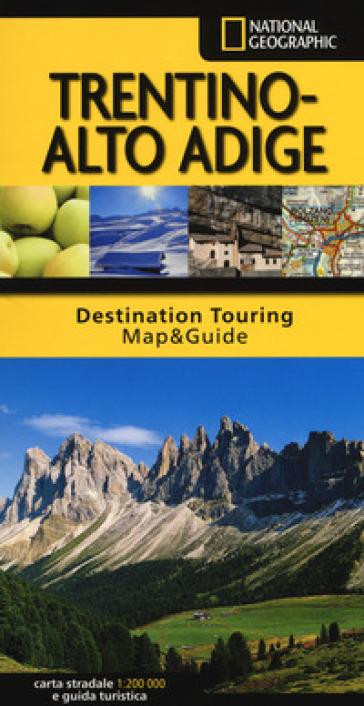 Trentino Alto Adige. Carta stradale e guida turistica
