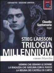 Trilogia Millennium letto da Claudio Santamaria. Audiolibro. 2 CD Audio formato MP3. Ediz. limitata