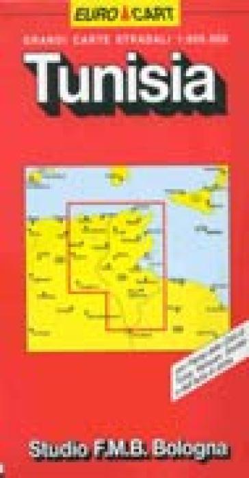 Tunisia 1:800.000