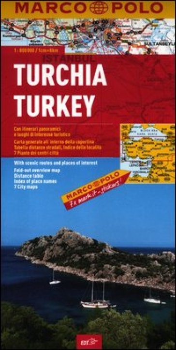 Turchia 1:800.000. Ediz. multilingue