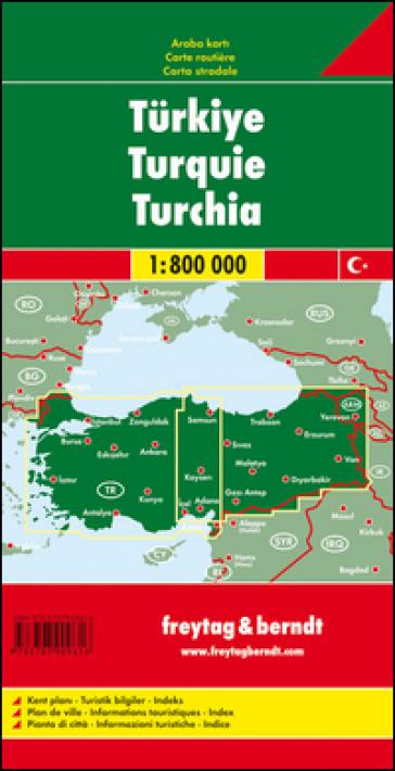 Turchia 1:800.000