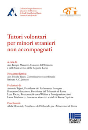 Tutori volontari per minori stranieri non accompagnati - J. Marzetti  