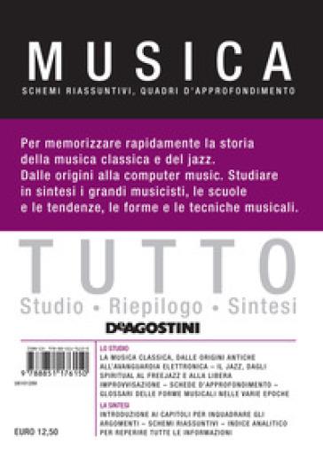 Tutto musica. Schemi riassuntivi, quadri d'approfondimento - G. Boffi | Thecosgala.com