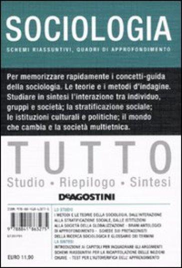 Tutto sociologia - Lucia De Martis  