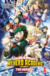 Two heroes. My Hero Academia the movie. Anime comics