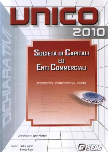 UNICO 2010. Società di capitali ed enti commerciali