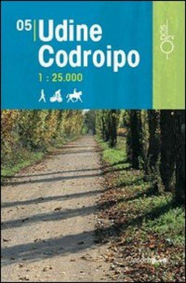 Udine Codroipo 1:25.000 - D. Pozzati   Rochesterscifianimecon.com