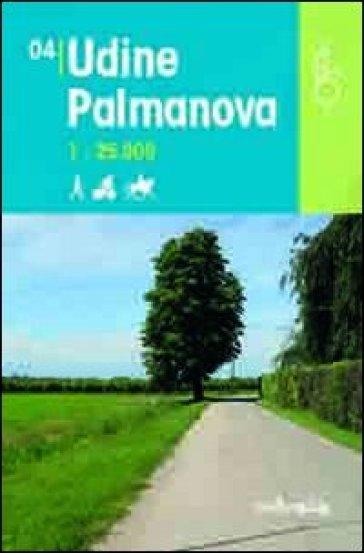Udine Palmanova 1:25.000 - D. Pozzati | Rochesterscifianimecon.com