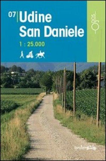 Udine San Daniele 1:25.000 - D. Pozzati   Rochesterscifianimecon.com