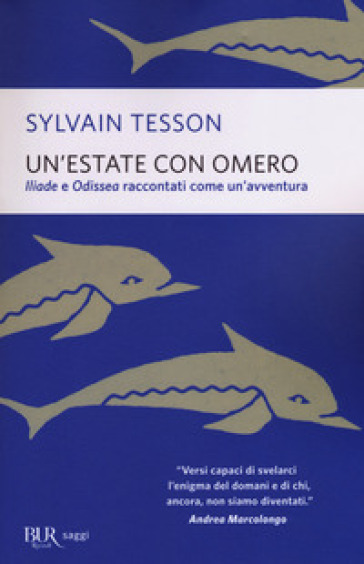 Un'estate con Omero - Sylvain Tesson pdf epub