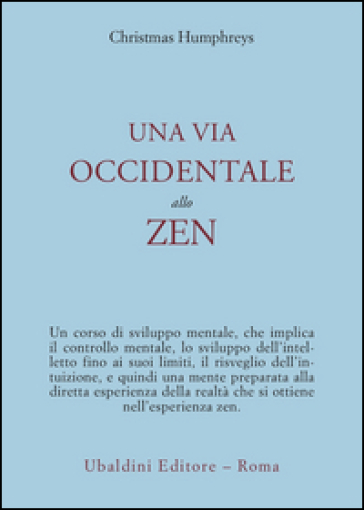 Una via occidentale allo zen
