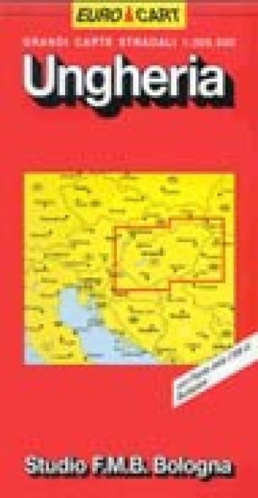 Ungheria 1:300.000 -  pdf epub