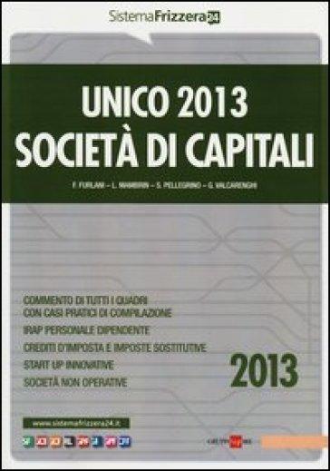 Unico 2013. Società di capitali