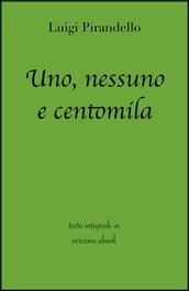 Uno, nessuno e centomila di Luigi Pirandello in ebook