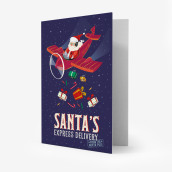 Image of Unusual Christmas Greeting Cards -11,5X17 - Express Delivery