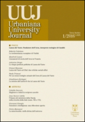 Urbaniana University Journal. Euntes Docete (2016). 1.Focus: Lanza del Vasto fondatore dell