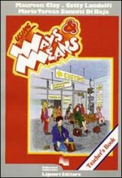 Using Ways and Means. Teachers's Book