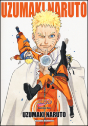 Uzumaki Naruto. Illustration book. Con adesivi