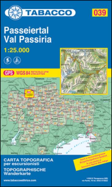 Val Passiria 1:25.000