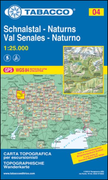 Val Senales 1:25.000