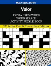 Valor Trivia Crossword Word Search Activity Puzzle Book