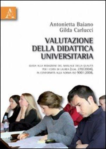 Valutazione della didattica universitaria - Antonietta Baiano | Rochesterscifianimecon.com