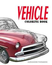 Vehicle Coloring Book