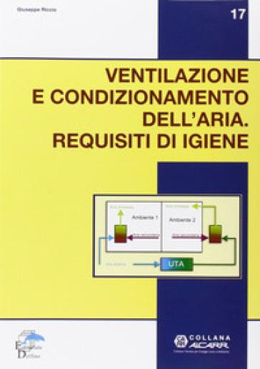 Ventilazione e condizionamento dell'aria. Requisiti d'igiene - Giuseppe Riccio | Thecosgala.com