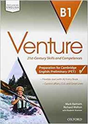 Venture. B1. Student's book-Workbook-Openbook-Studyapp. Per le Scuole superiori. Con CD Audio. Con e-book. Con espansione online