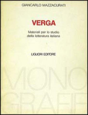 Verga - Giancarlo Mazzacurati   Kritjur.org