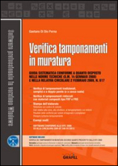 Verifica tamponamenti in muratura. Con Contenuto digitale per download e accesso on line