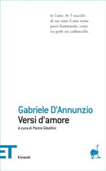 Versi d'amore - Gabriele D'Annunzio  