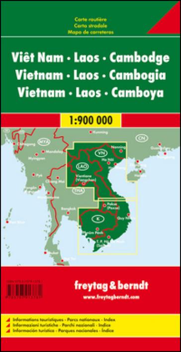 Vietnam-Laos-Cambogia