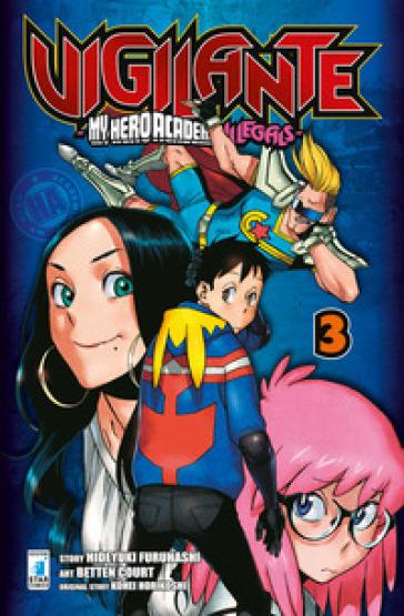 Vigilante. My Hero Academia illegals. 3. - Kohei Horikoshi | Thecosgala.com