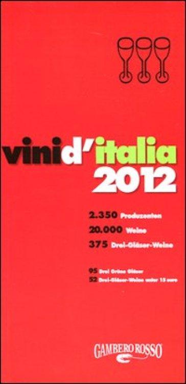 Vini d'Italia 2012. Ediz. tedesca -  pdf epub