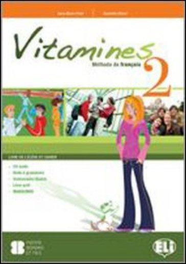 Vitamines version «plus» e «base». Con espansione online. Con CD Audio. Per la Scuola media. 2.