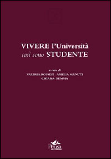 Vivere l'Università così sono studente - V. Rossini  
