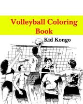 Volleyball Coloring Book
