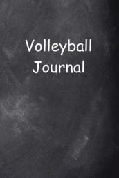 Volleyball Journal Chalkboard Design