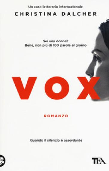 Vox - Christina Dalcher | Thecosgala.com